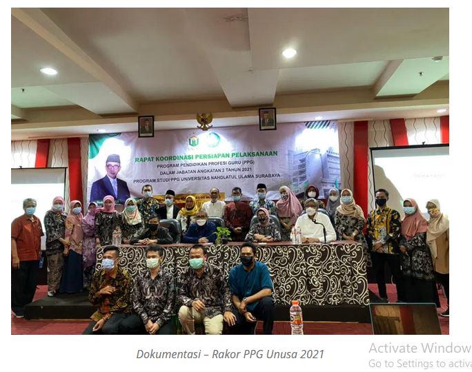 Hasil Rapat PPG: Tetapkan Orientasi dilaksanakan tanggal 24 Mei 2021