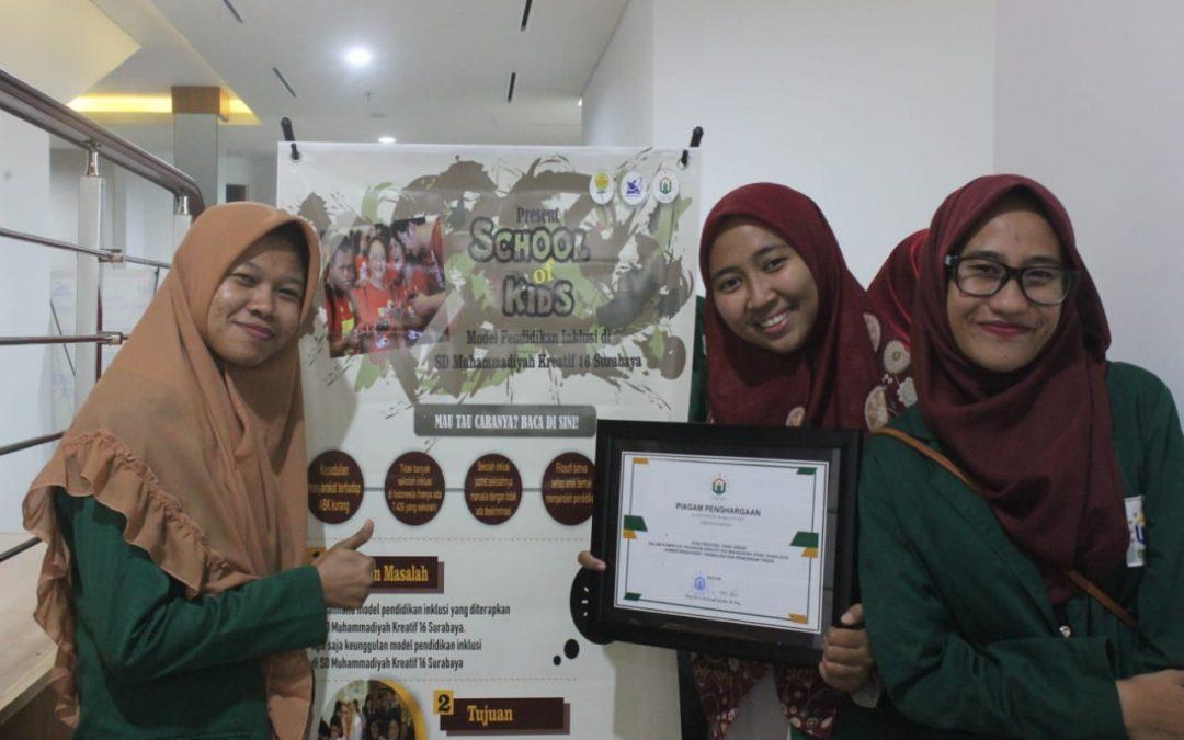Hilangkan Diskriminasi Siswa Reguler dan ABK, Mahasiswa Unusa Teliti SD Muhammadiyah 16